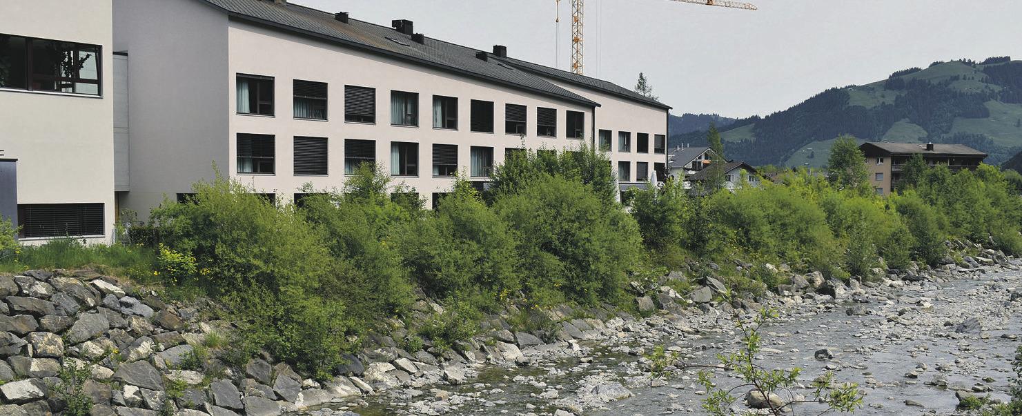 Neue Alterswohnungen an Fernwärmeleitung anschliessen